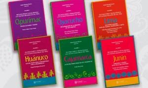 """""""Reconociendo y revalorando las cocinas regionales del Perú"""", de Isabel Álvarez Novoa.  Colección de 6 libros Nominada en la categoría de  Mejor Libro de Cocina Local."""